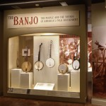 """""""The Banjo: The People and The Sounds of America's Folk Instrument,"""" an exhibition at the Museum of Our National Heritage, Lexington, Massachusetts"""